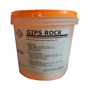 Gips rock - gesso per modelli - SP